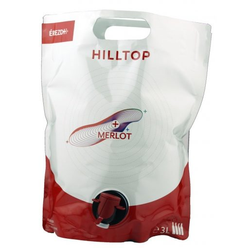 Hilltop Merlot 3L Bag in Box
